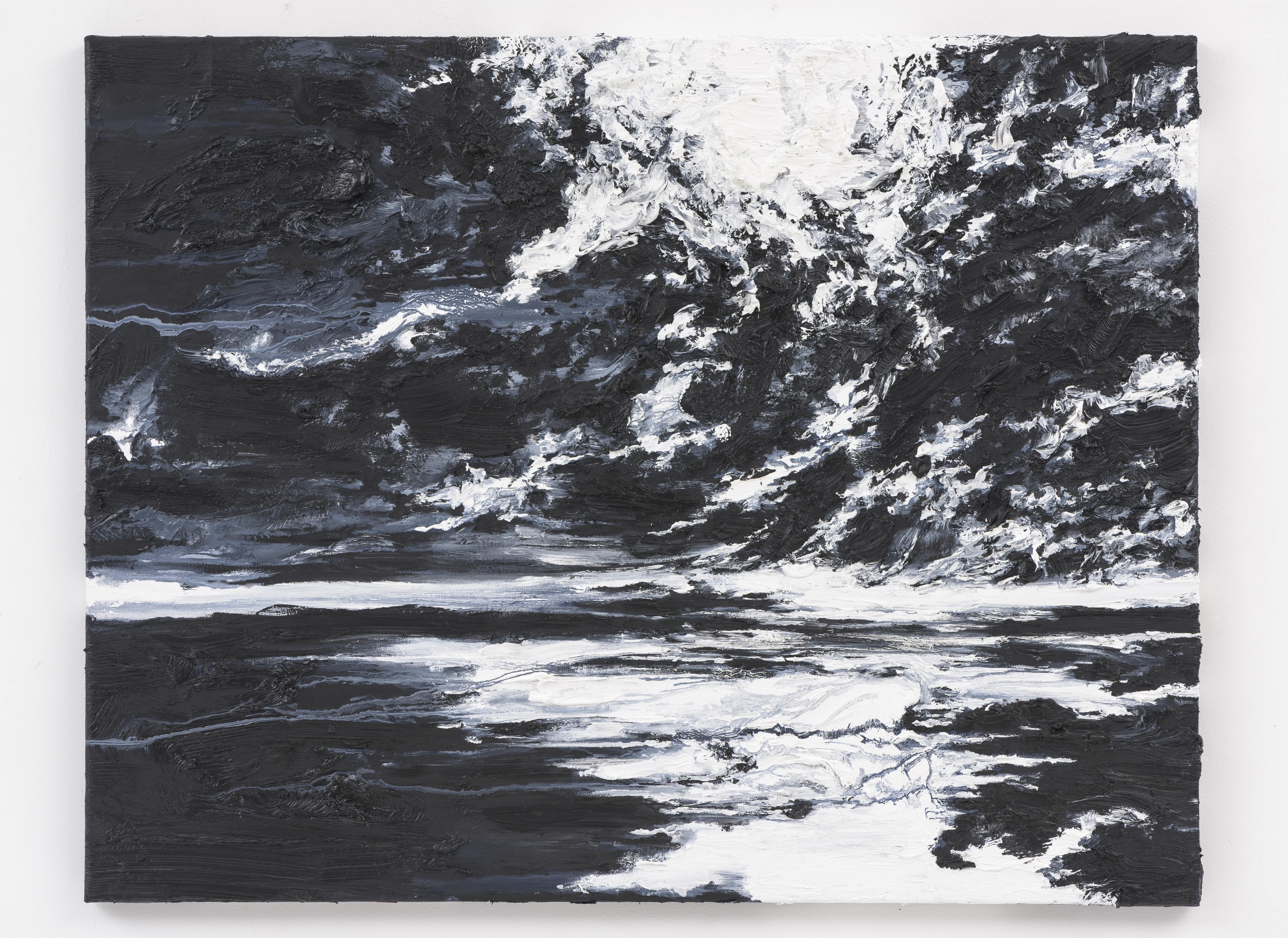 """Unending Infinity II"" 70 x 90 cm. oil on linen 2016"