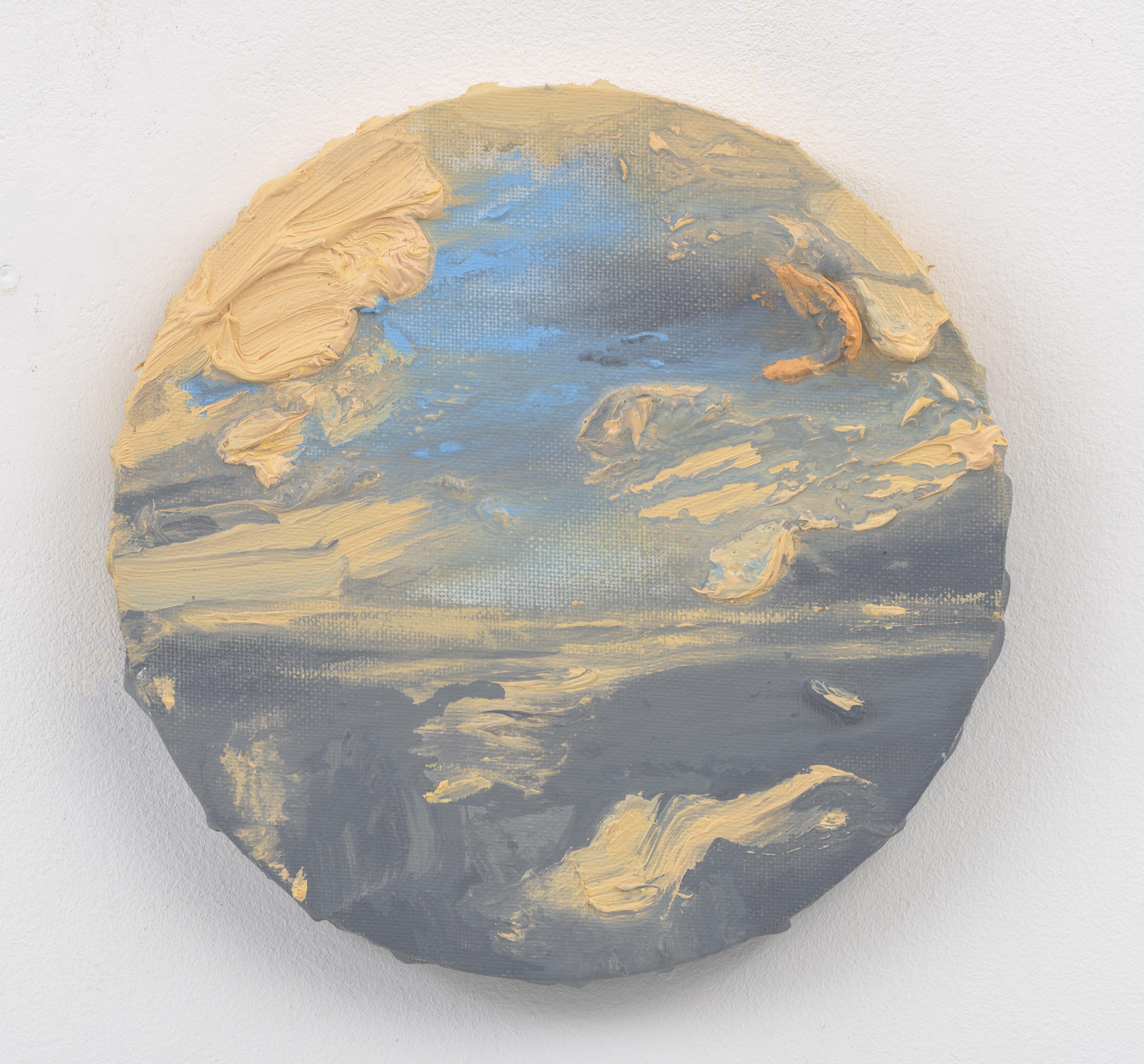 """""""Z.t."""" 20 x 20 cm. oil on linen 2016"""