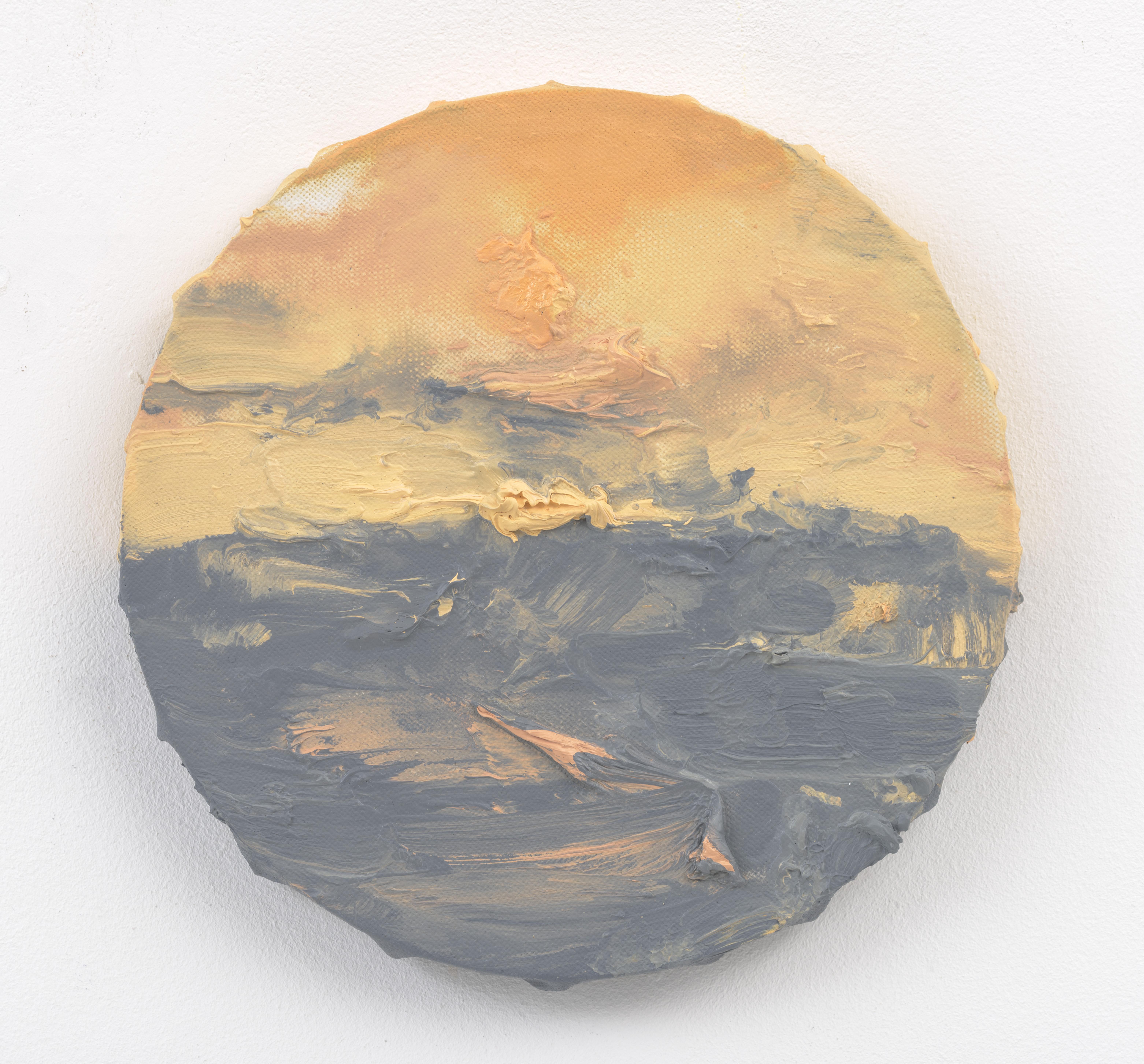 """""""Avondlucht V"""", 20 x 20 cm., oil on linen 2016"""