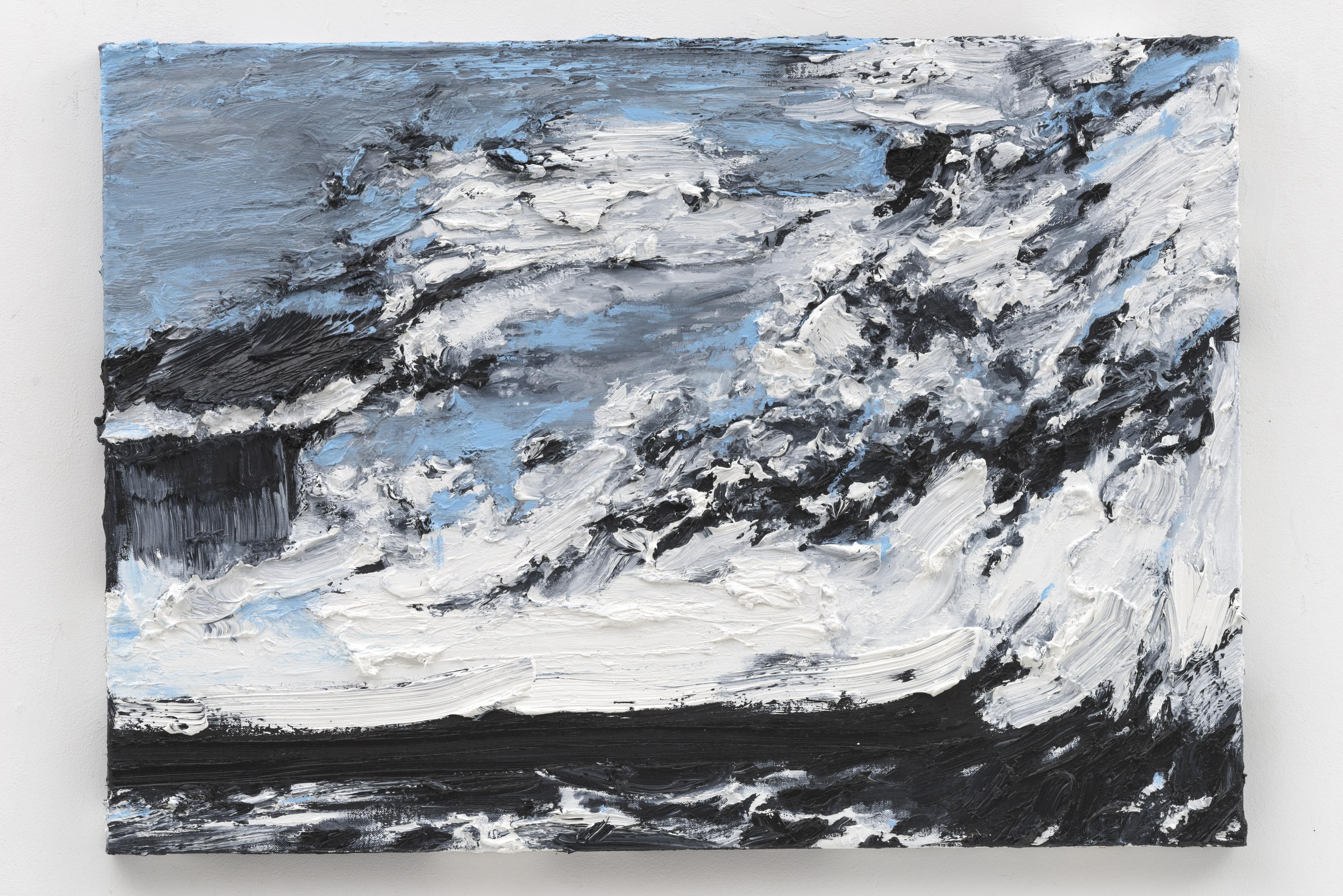 """""""Tempestade"""", 50 x 70 cm., oil on linen 2017 (Portugal)"""
