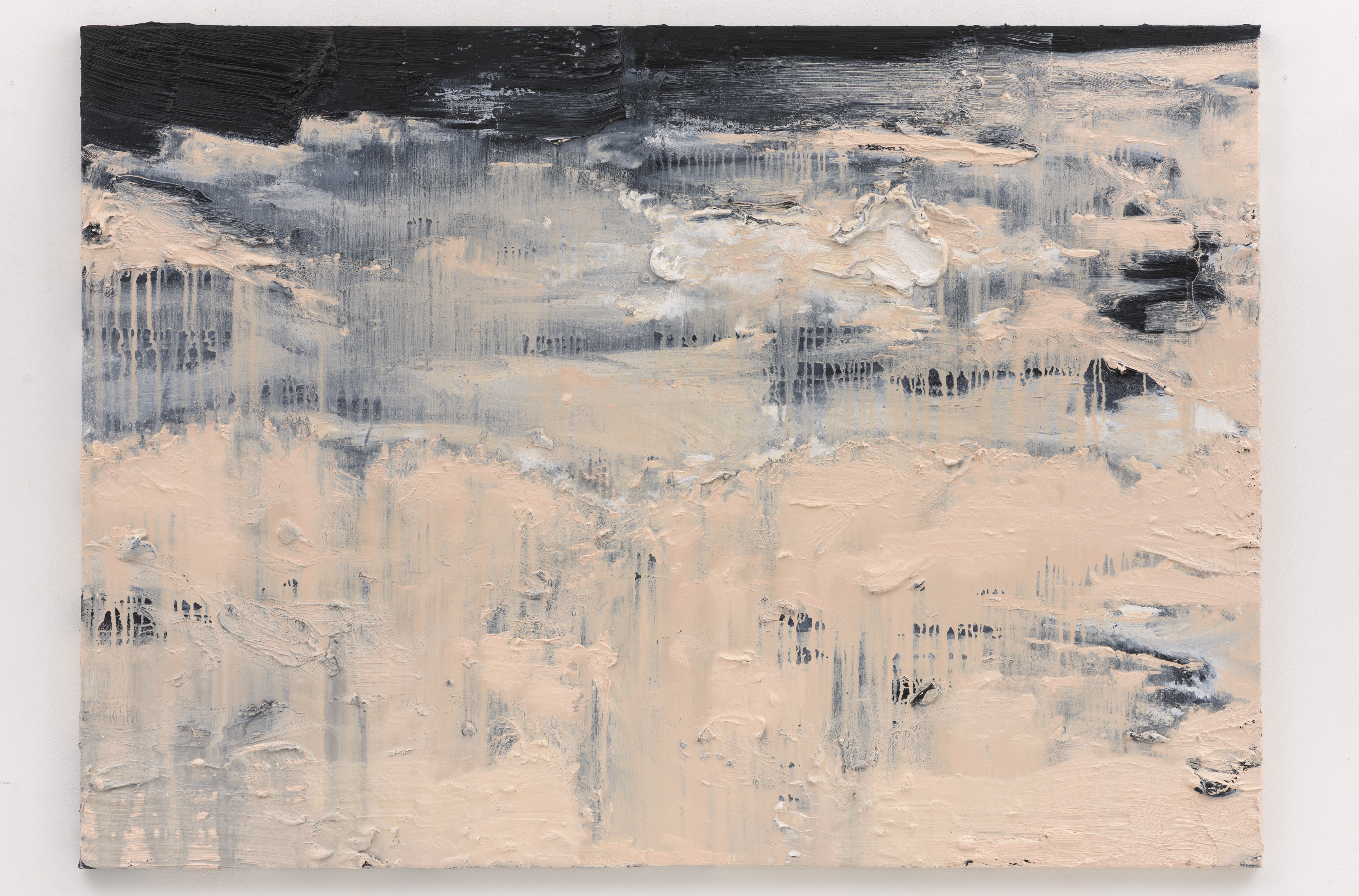 """Nebuloso"" 100 x 140 cm. oil on linen 2017"