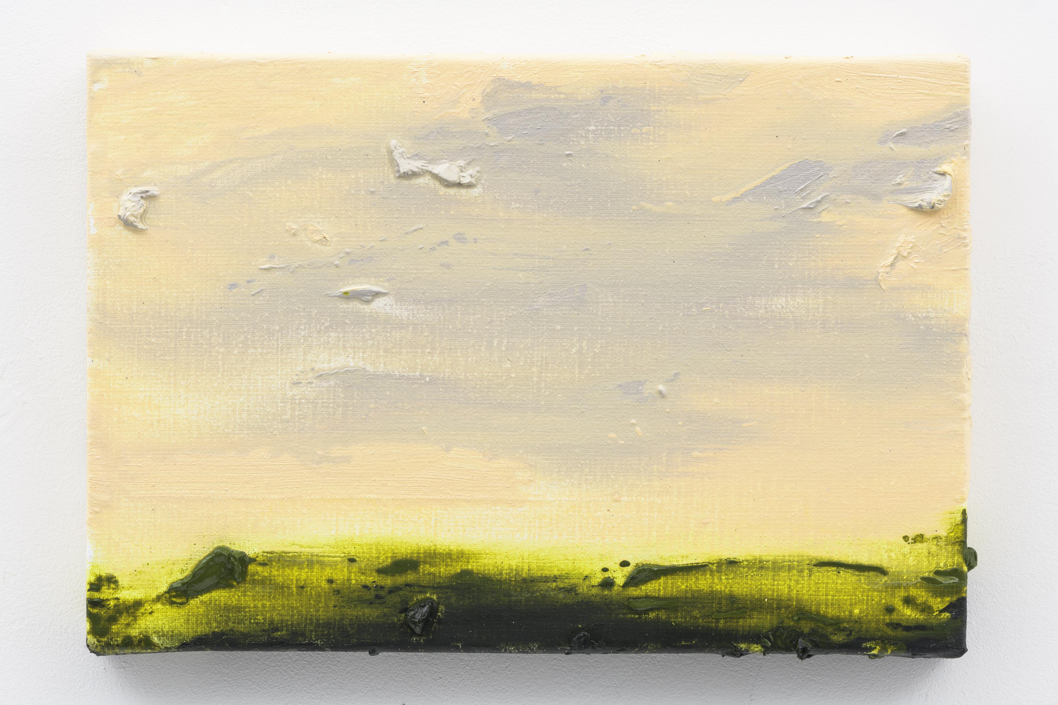 """Herfstlicht I"" 20 x 30 cm. oil on linen 2017 (Air Van GoghHuis)"