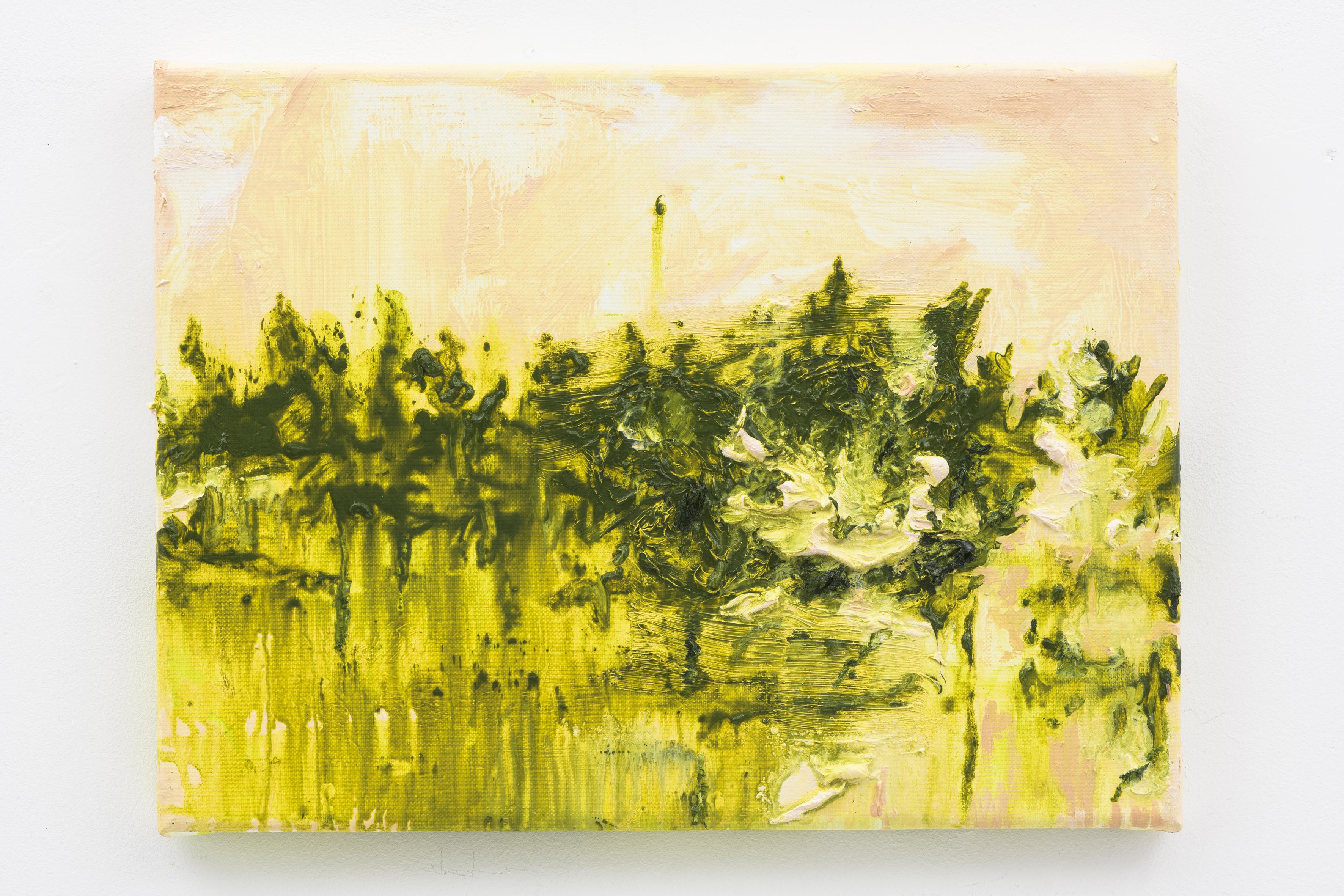 """Stekven"", 30 x 40 cm., oil on linen 2017 (Van Gogh)"