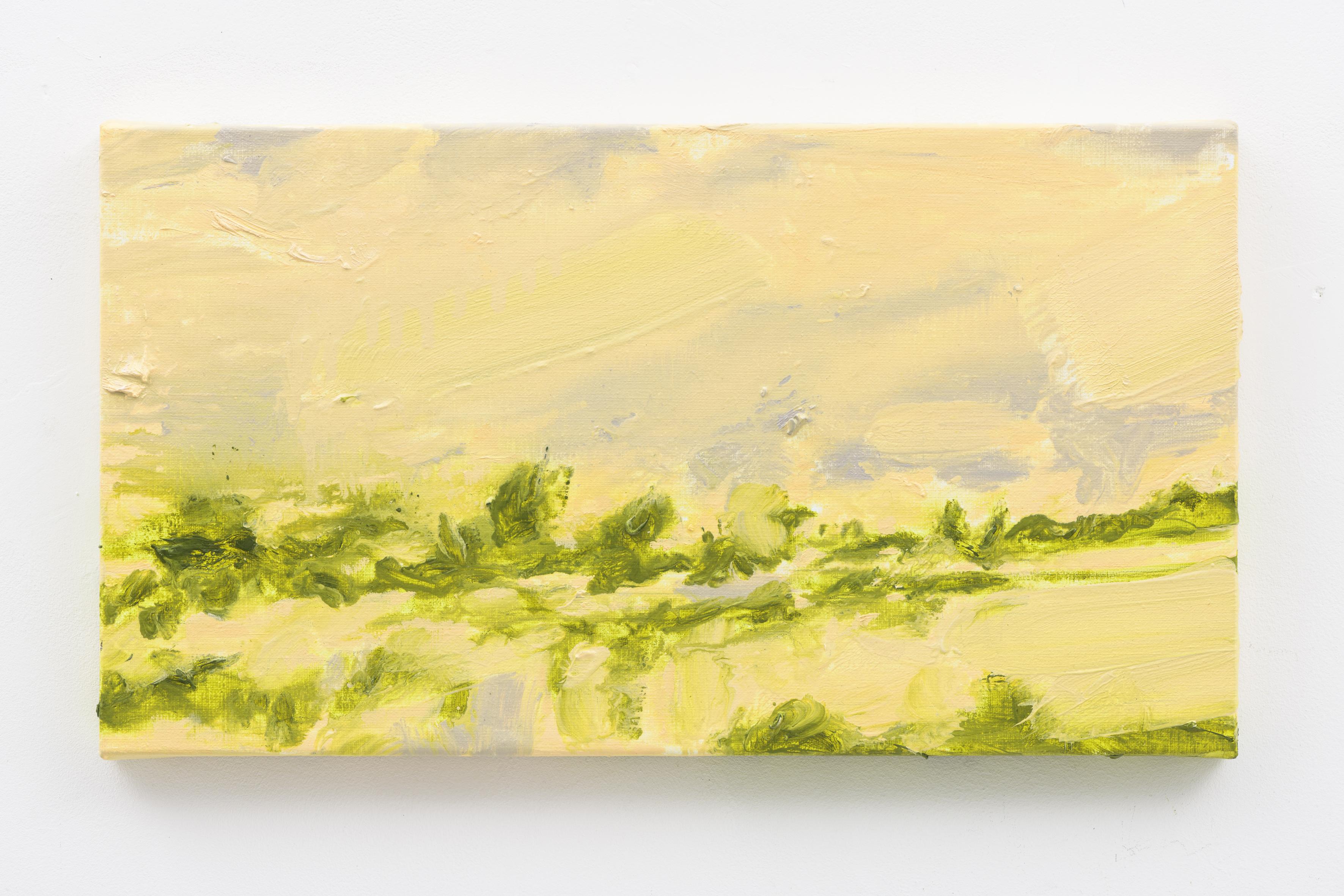 """Oude Buisse Heide IV"" 25 x 45 cm. oil on linen 2017 (Air Van GoghHuis)"