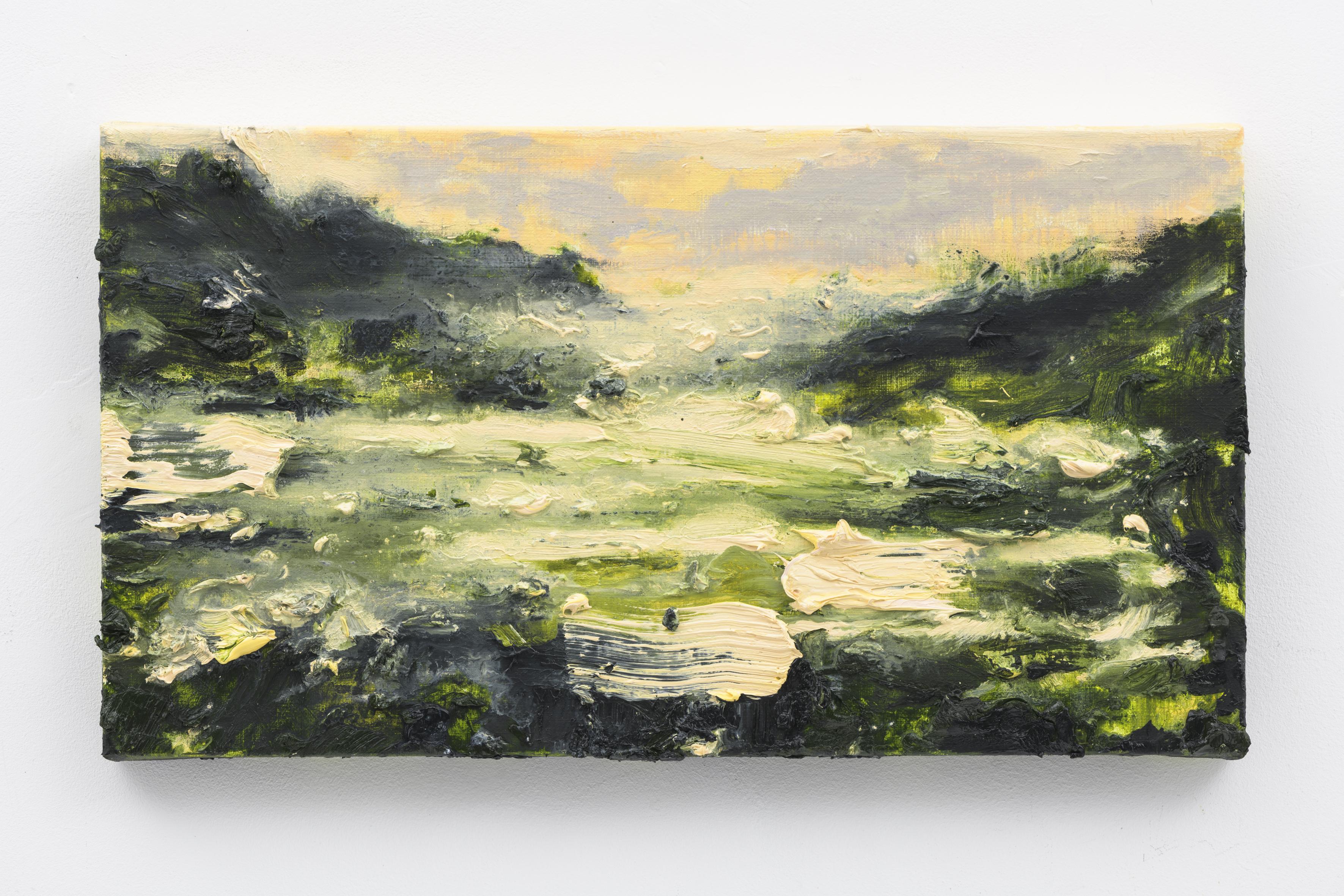 """Oude Buisse Heide III"" 25 x 45 cm. oil on linen 2017 (Air Van GoghHuis)"