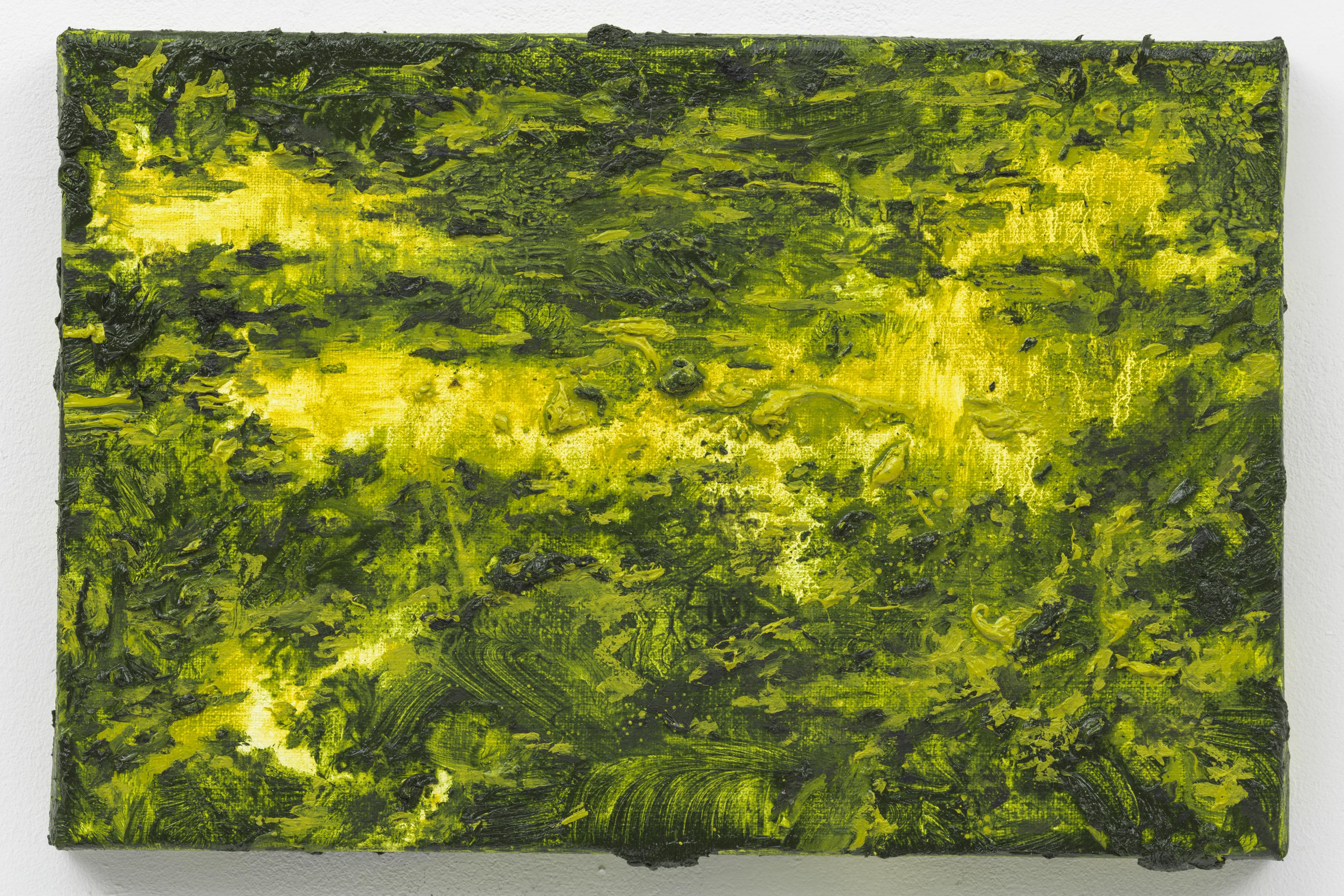 """""""LOST III"""", 20 x 30 cm. oil on linen 2018 (Berlin)"""