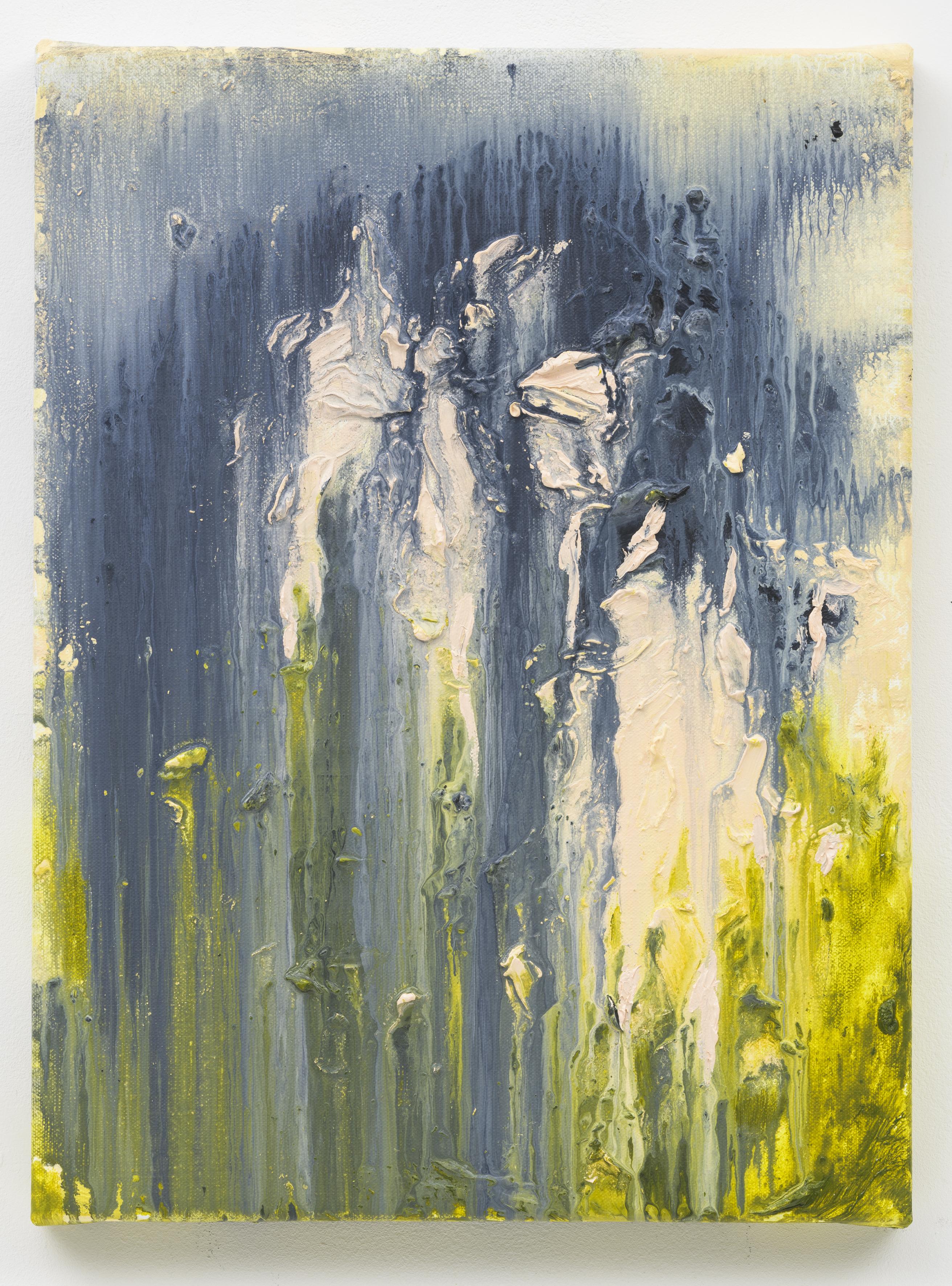 """""""Rare Flowers"""" 40 x 30 cm. oil on linen 2018 (Portugal)"""