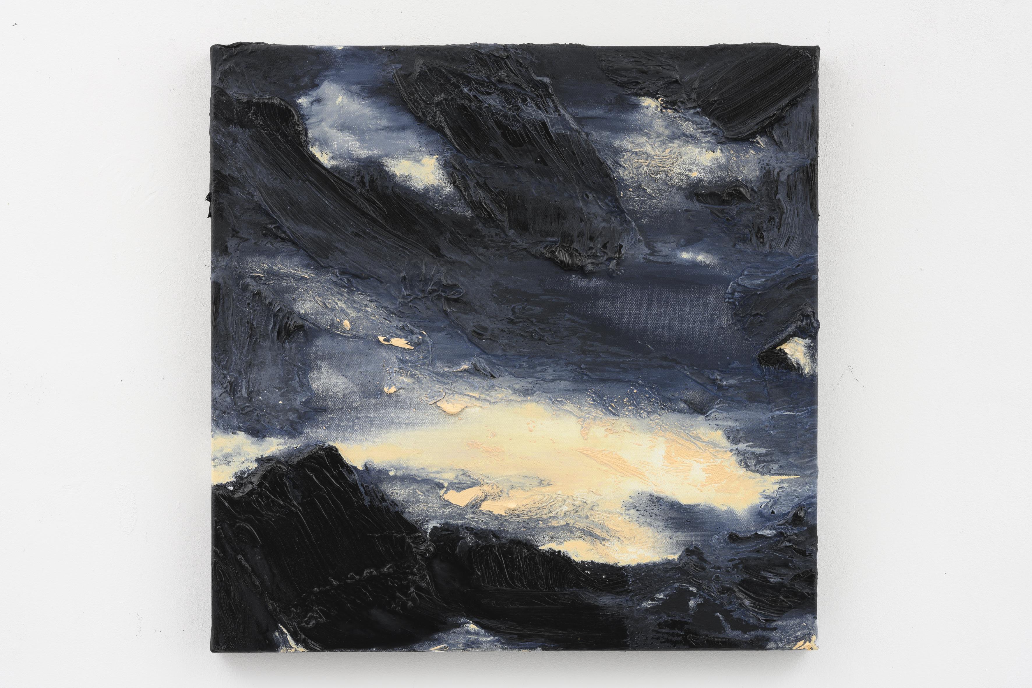 """Crepúsculo III"", 50 x 60 cm. oil on linen 2019 (Portugal)"