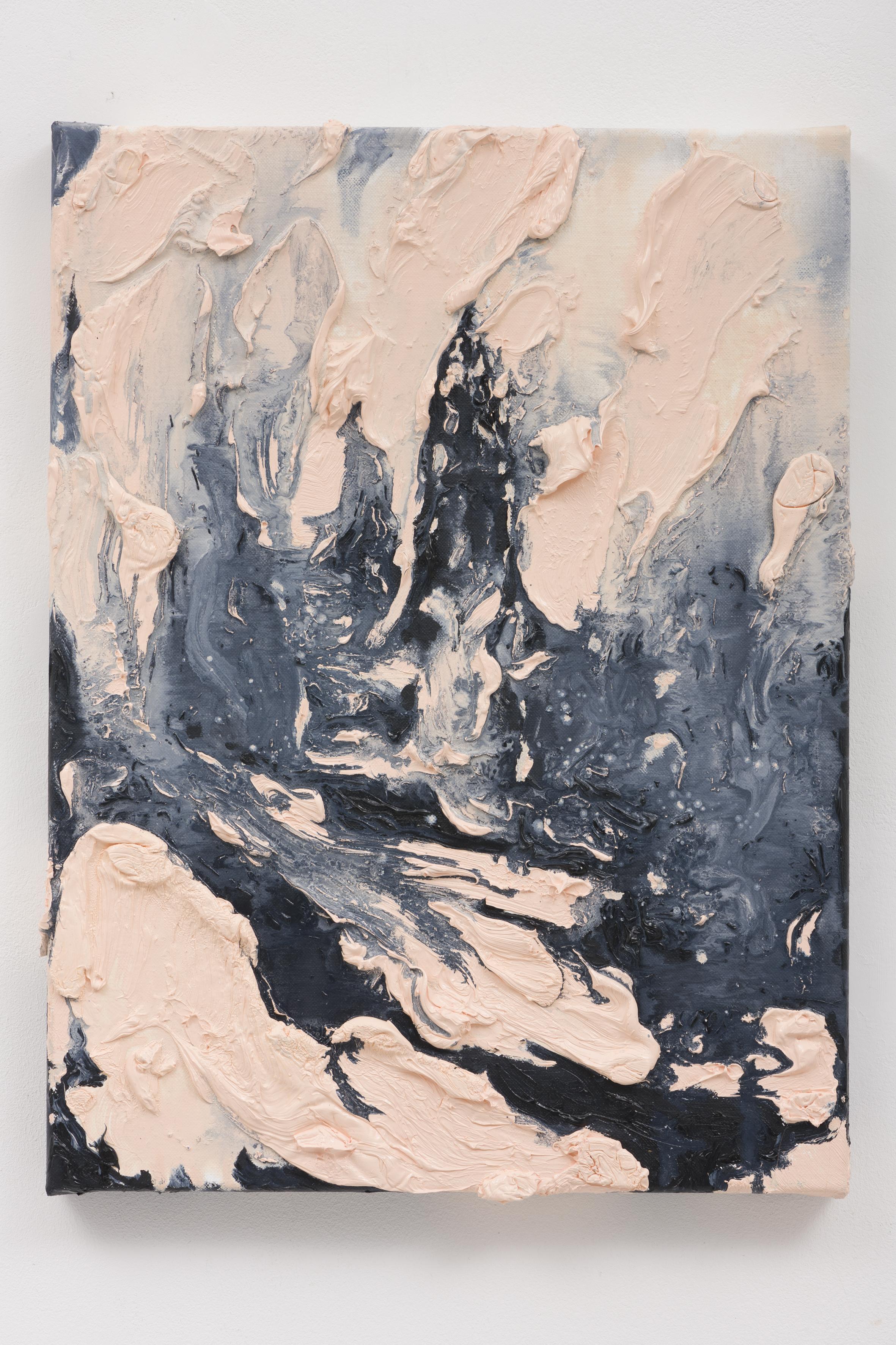 """""""No Moon in Berlin II"""", 40 x 30 cm., oil on linen 2020 (Berlin)"""