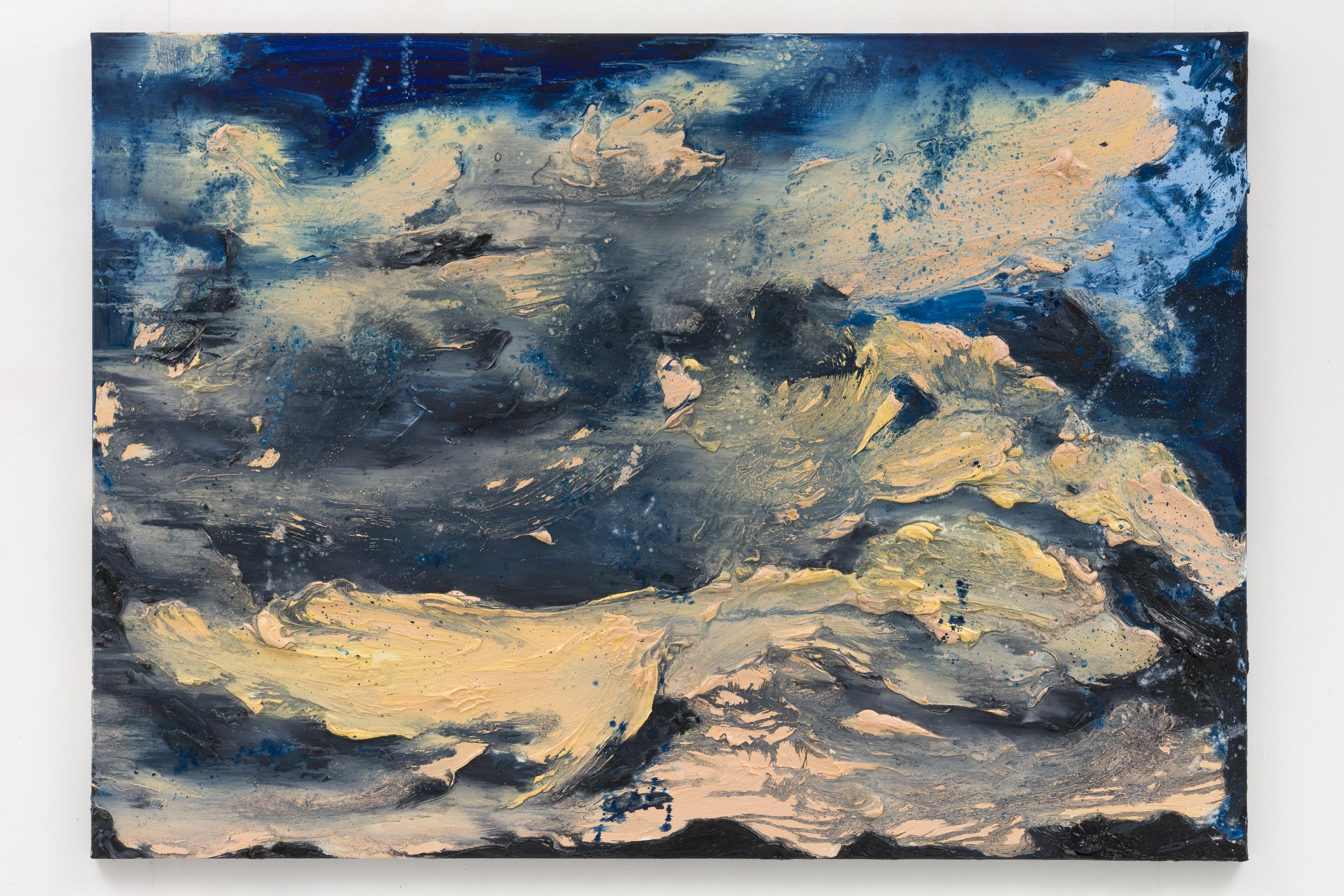 """""""Stille (Berlin) III"""", 100 x 140 cm., oil on linen 2020 (Berlin)"""