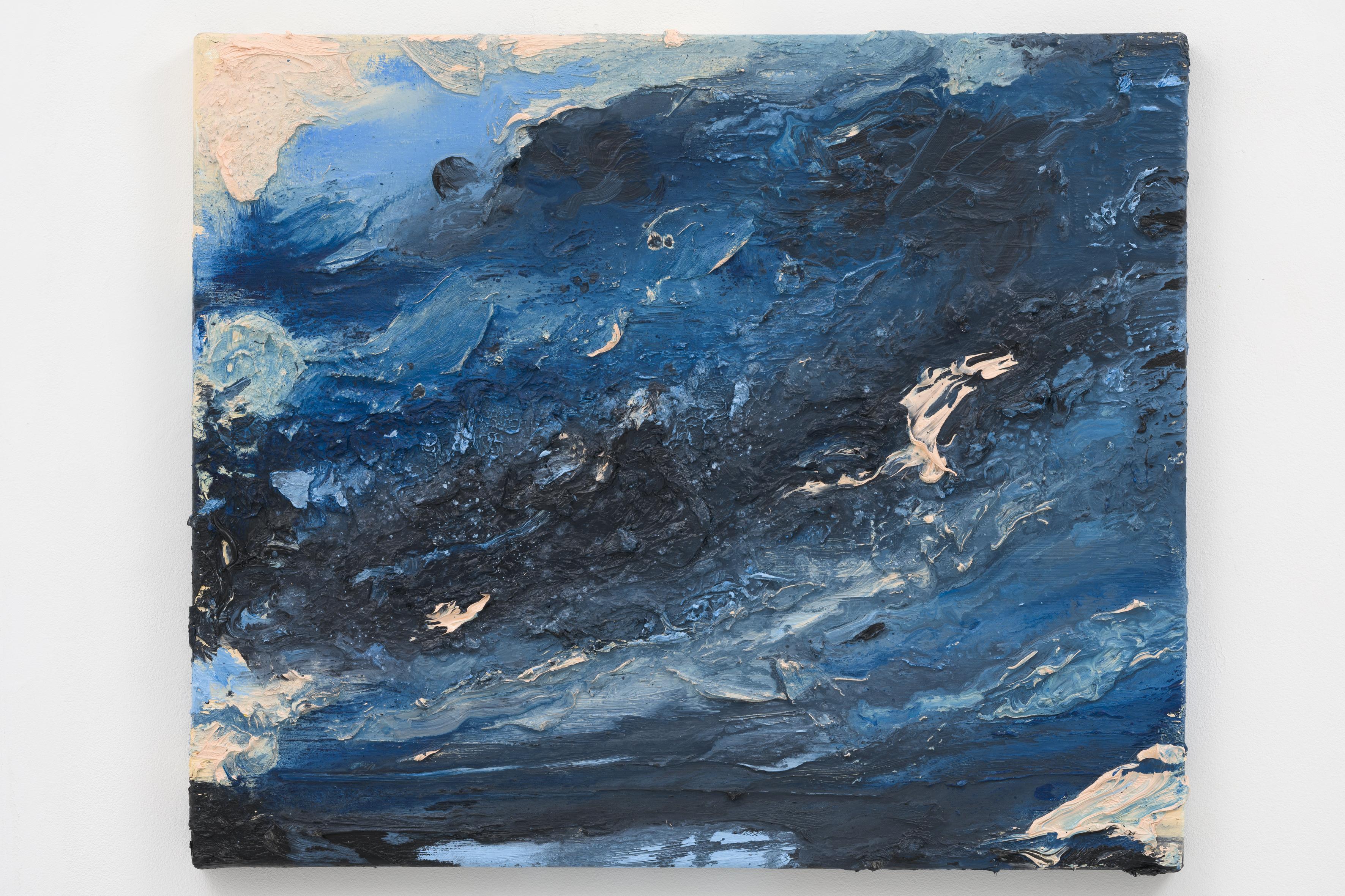 """""""Het Laatste Licht VII"""", 50 x 60 cm., oil in linen 2020"""