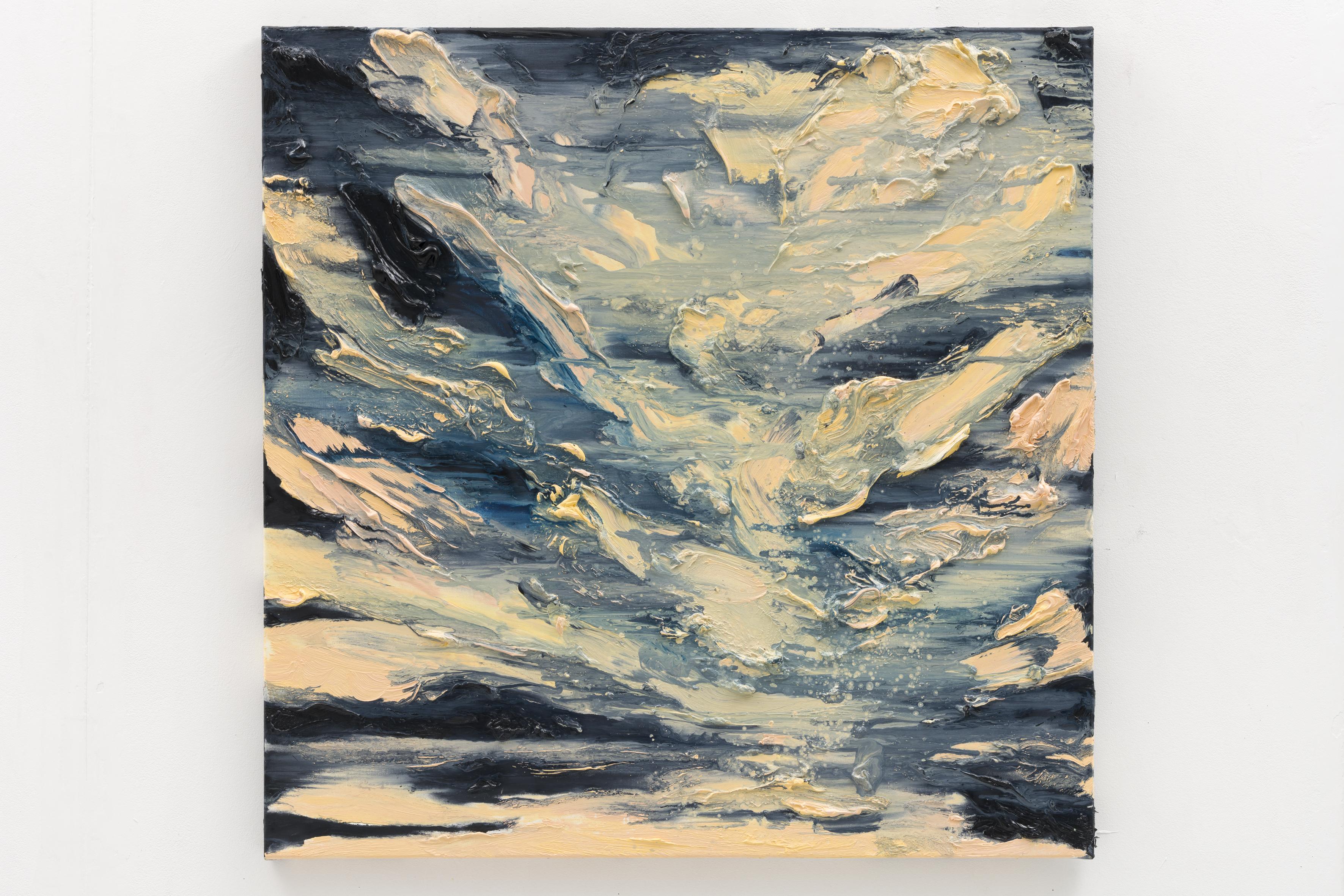 """""""Stille Berlin"""", 80 x 80 cm., oil on linen 2020 (Berlin)"""