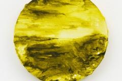 """Waddenmaan I"", 20 x 20 cm., oil on coton 2015"