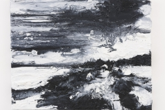 """""""Dammerung II"""" 40 x 50 cm. oil on linen 2015"""