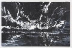 """""""Unending Infinity I"""" 200 x 130 cm. oil on linen 2016"""