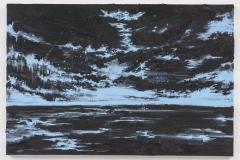 """Infinitive Horizons III"" 60 x 90 cm. oil on linen 2016"
