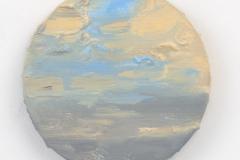 """Avondlucht IV"", 20 x 20 cm., oil on linen 2016"