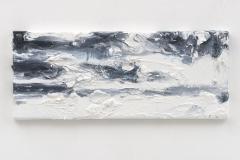"""Resonating Landscapes VI"" 20 x 50 cm. oil on linen 2017"