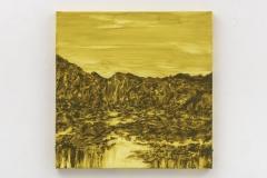 """""""Reclaimed VII"""" 50 x 50 cm. oil on linen 2017"""