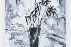 """Dessecada"", 50 x 40 cm., oil on linen 2017 (Van Gogh)"