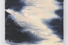 """""""Sun Down V"""", 20 x 20 cm., oil on linen 2018 (Portugal)"""