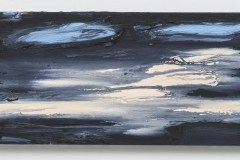 """""""Por do Sol I"""" 30 x 50 cm. oil on linen 2018 (Portugal)"""