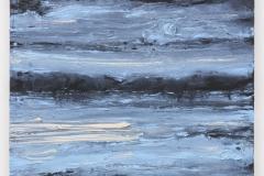 """""""A Hora Azul III"""", 50 x 60 cm., oil on linen 2018 (Portugal)"""