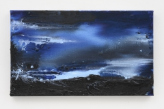 """""""My Norway, The Blues of Norway VIII"""", 30 x 50 cm. oil on linen 2019 (Norway)"""