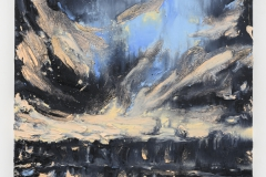"""Night Moves I"", 140 x 100 cm. oil on linen 2019 (Portugal)"