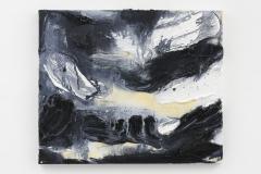 """""""Crepúsculo V"""", 50 x 60 cm. oil on linen 2019 (Portugal)"""