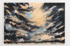 """Am Groszen Wannsee II"", 110 x 160 cm., oil on linen 2020 (Berlin)"