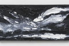 """Wanderung II"" 20 x 40 cm. oil on linen 2018 (Berlin)"