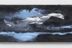 """""""Wanderung I"""" 20 x 40 cm. oil on linen 2018 (Berlin)"""