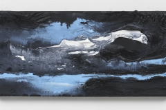 """Wanderung I, Berlin Suite"" 20 x 40 cm. oil on linen 2018 (Special Edition, Berlin)"
