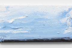 """""""Wanderung VIII"""" 20 x 40 cm. oil on linen 2018 (Berlin)"""