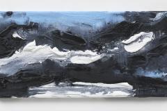 """""""Wanderung VI"""" 20 x 40 cm. oil on linen 2018 (Berlin)"""
