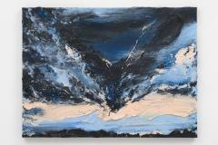 """""""Het Laatste Licht VIII"""", 60 x 80 cm., oil in linen 2021"""
