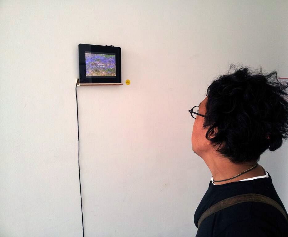 "48 Stunden Berlin, presentation of the One Minute film ""Windflowers"" (2015)"
