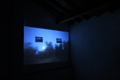 "Presentation of the installation & short film ""Lua Cheia - O tempo está passando"", Fundacao Obras, Portugal (2018"