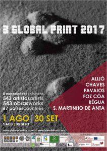 POSTER - Cartaz GP2017 (LEVE)-Douro Biennial 3rd global print 2017